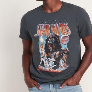 Star Wars dark grey graphic t-shirt size large